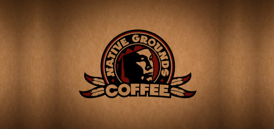coffee logo13 36 Creative & Beautiful Coffee Logo Designs
