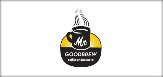 coffee logo21 36 Creative & Beautiful Coffee Logo Designs