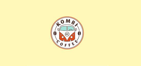coffee logo32 36 Creative & Beautiful Coffee Logo Designs