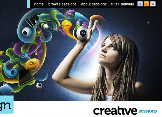Colorful & Creative Website Designs For Your Inspiration