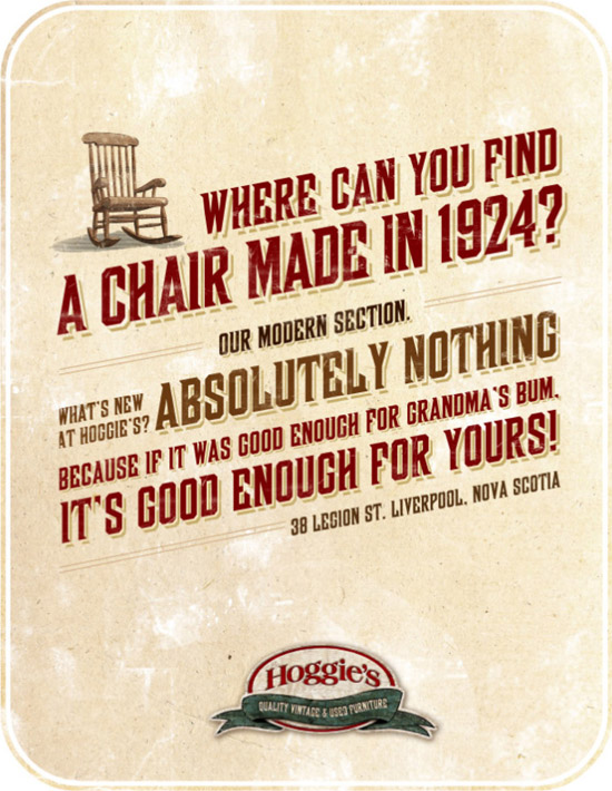 Stunning Vintage Style Print Advertising From Canada
