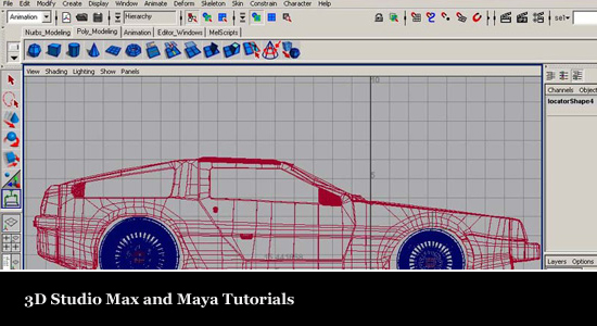 50 Amazing & Professional 3D Studio Max & Maya Tutorials