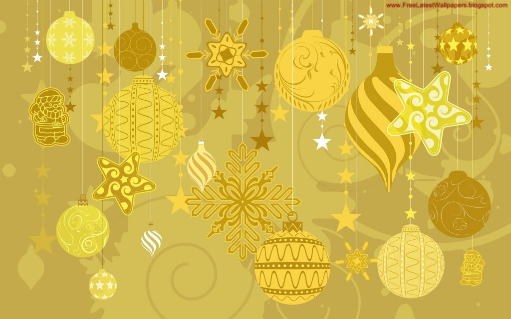 Christmas HD Vector 08 1024x640 Gorgeous Vector HD Christmas Wallpapers