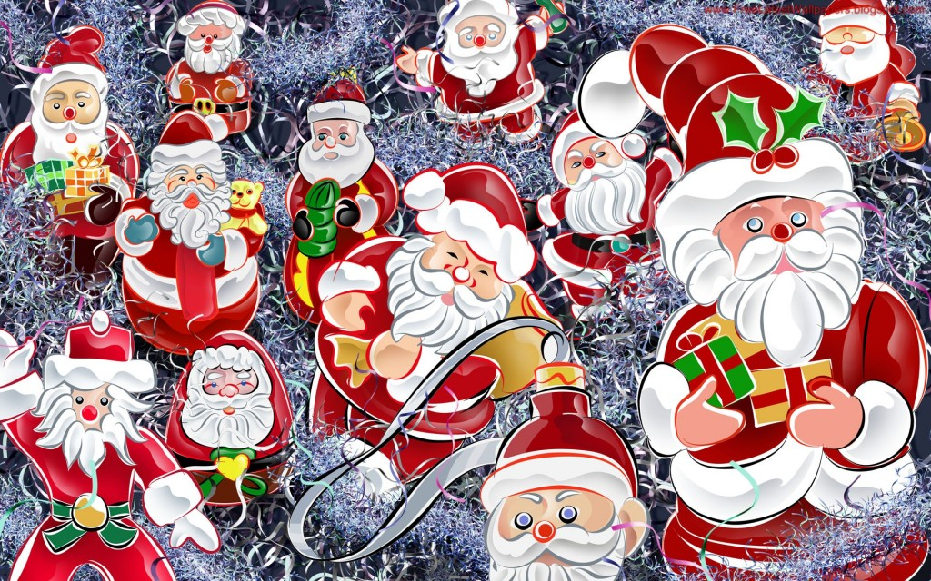 Christmas HD Vector 23 1024x640 Gorgeous Vector HD Christmas Wallpapers