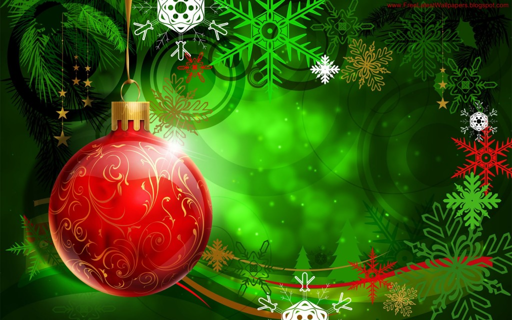 Christmas HD Vector 34 1024x640 Gorgeous Vector HD Christmas Wallpapers