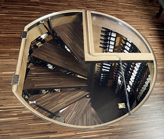 Most Beautiful Examples of Spiral & Helical Staircase Photography (1)