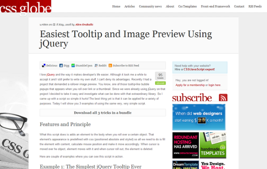easiest tooltip and image preview using jquery 13 best jQuery tooltip plugins to enhance your website look
