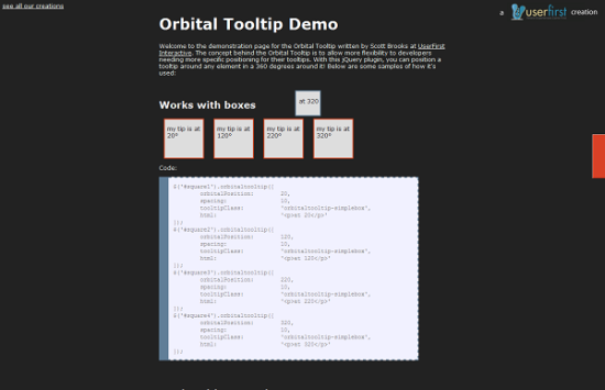 orbital tooltip 13 best jQuery tooltip plugins to enhance your website look