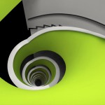 60+ Most Beautiful Examples of Spiral & Helical Staircase Photography