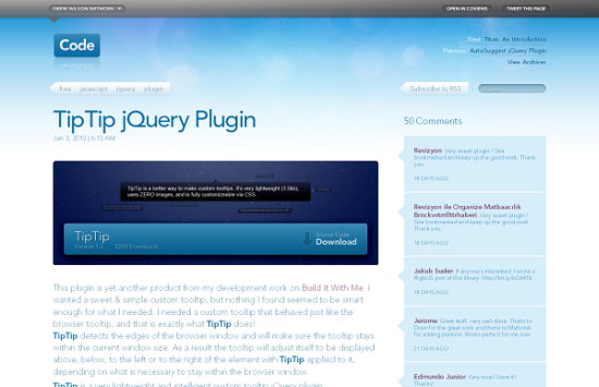 tiptip jquery plugin 13 best jQuery tooltip plugins to enhance your website look