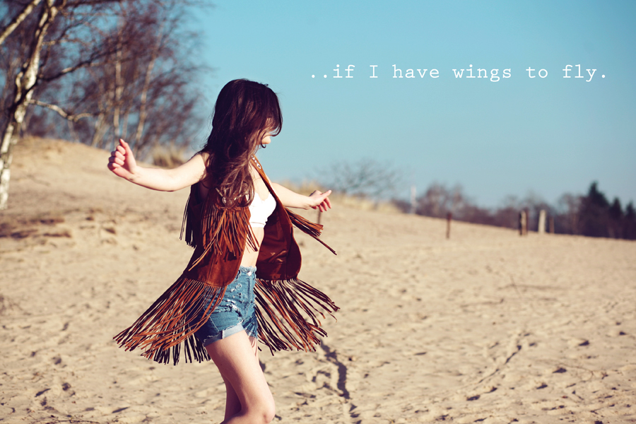 If I Have Wings To Fly IV Dont go breakin my heart inspiring emotive photography