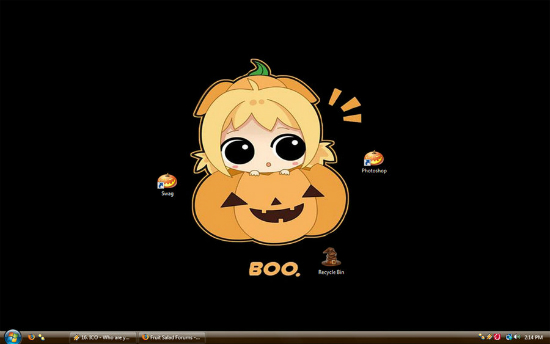 Halloween Wallpaper 2008 by Teebay 25+ Cute but not so Scary halloween Wallpapers
