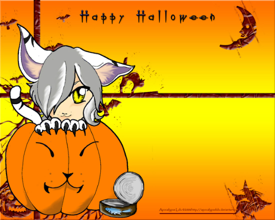 Happy Halloween by ApocalypseLulu 25+ Cute but not so Scary halloween Wallpapers