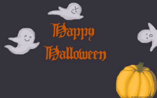 Silly Happy Halloween desktop by ChibiCharm 25+ Cute but not so Scary halloween Wallpapers