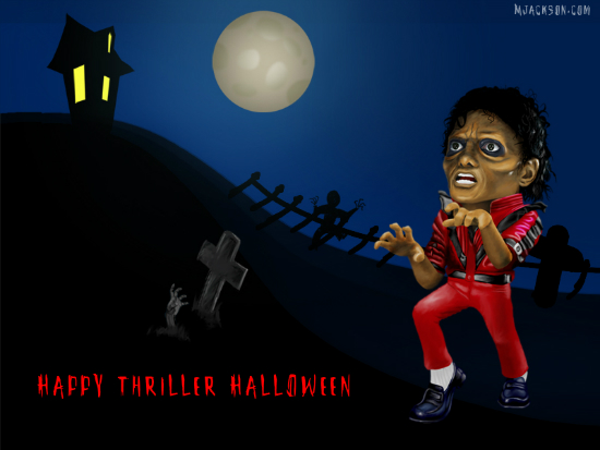 Thriller Halloween wallpaper 25+ Cute but not so Scary halloween Wallpapers