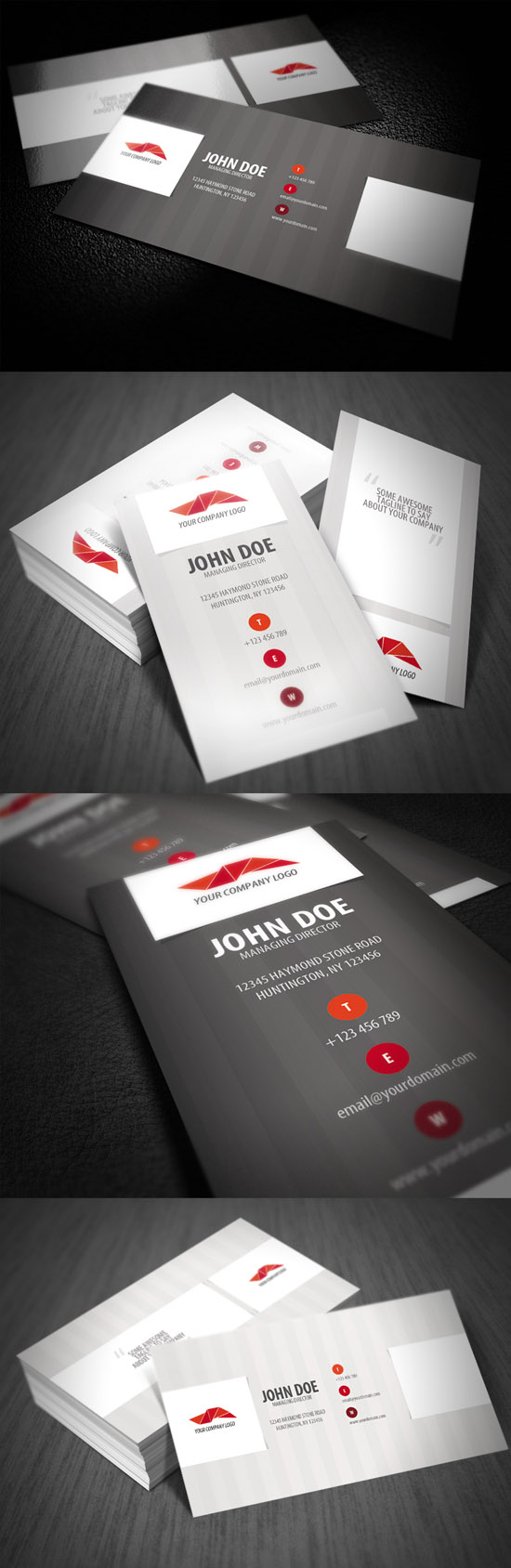 Business Card 17 Showcase Of Innovative Business Card Designs