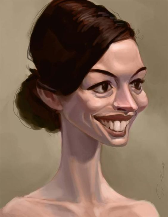 Anne Caricature