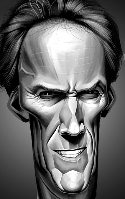 clint_eastwood caricature