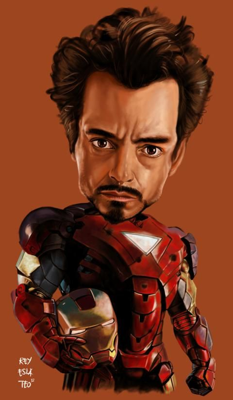 ironman Caricature