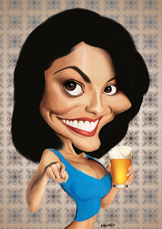 juliana_paes Caricature