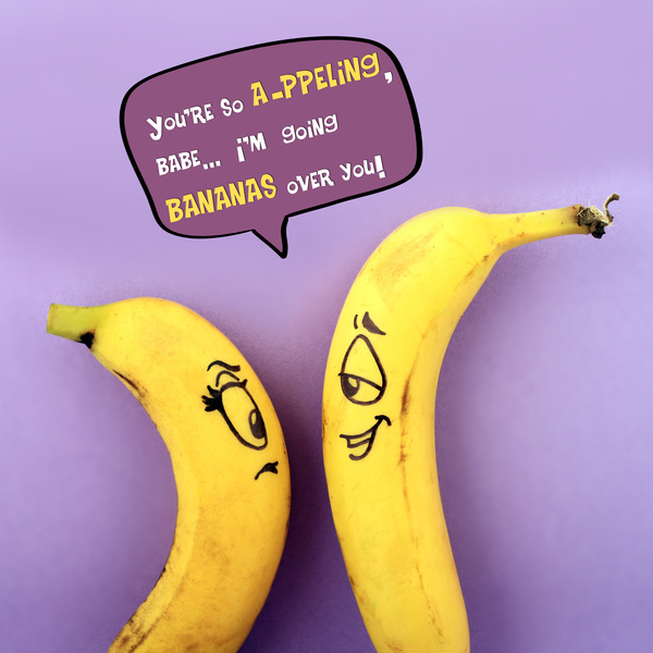 Funny Fruity One-Liner Quote Posters - Lava360