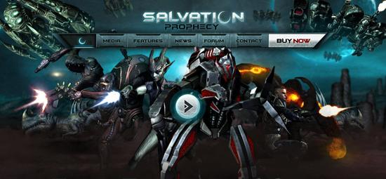 salvation prophecy gaming website