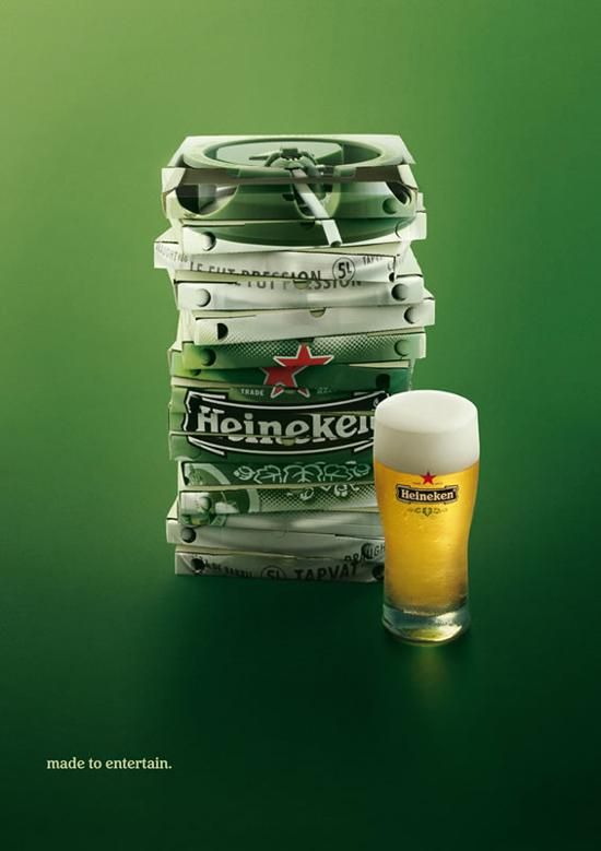 heineken print media advertisement
