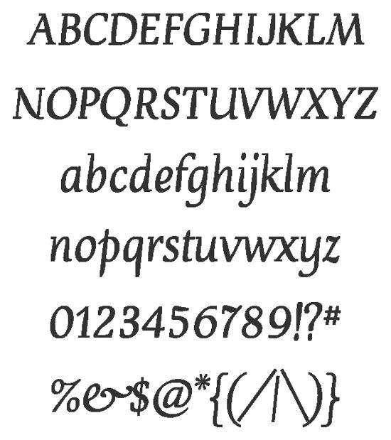 devroye font for free download
