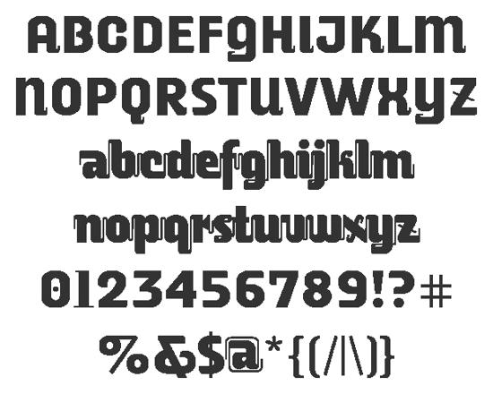 alusine font for free download