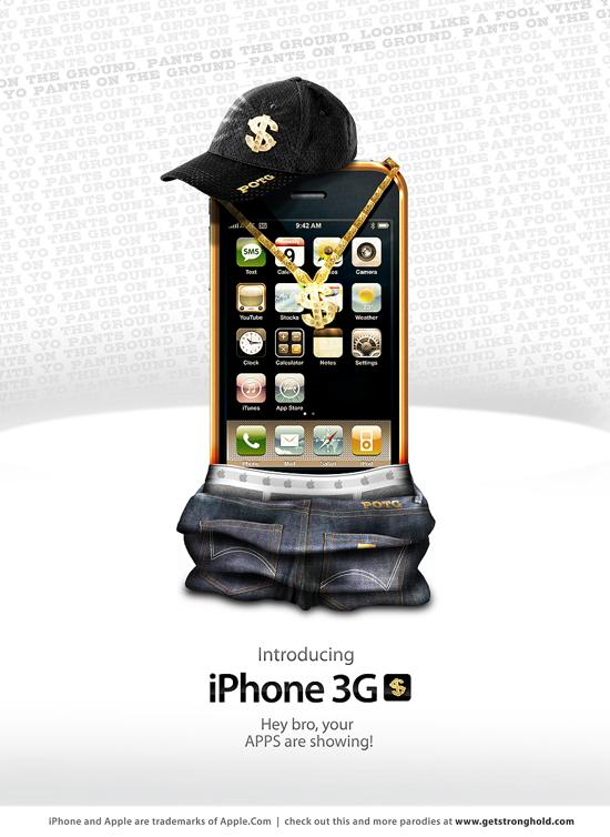 iphone print media advertisement