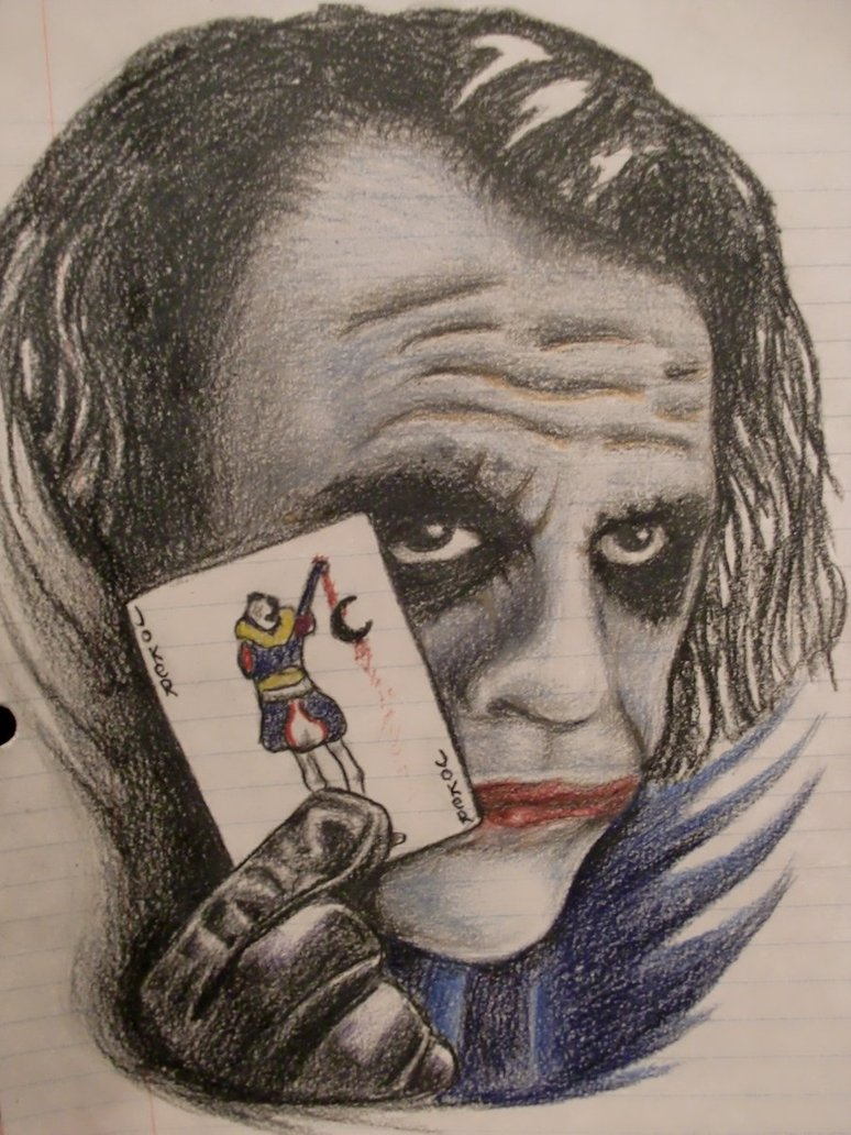 Freaky Joker tattoo design Ideas