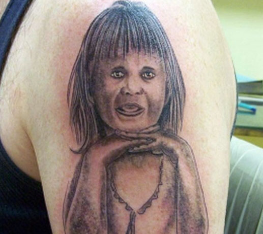 Daughter Tattoo Fail designs of loved ones