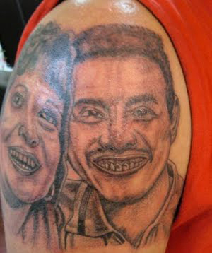 Husband Tattoo Fail designs of loved ones