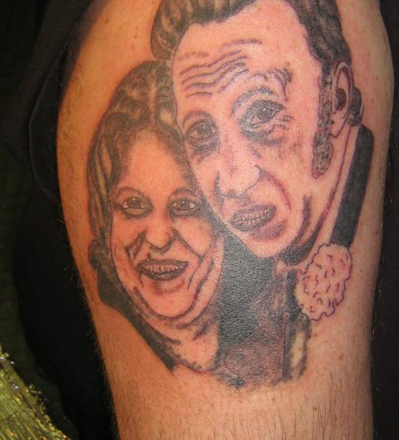 Mom Dad Tattoo Fail designs of loved ones