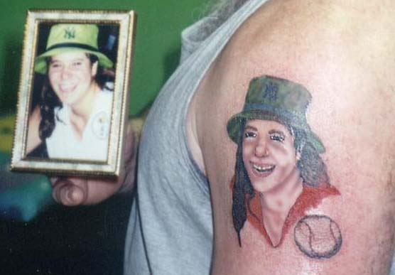 Tattoo Fail designs of loved ones