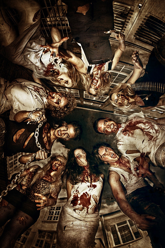 scary zombie photo manipulations