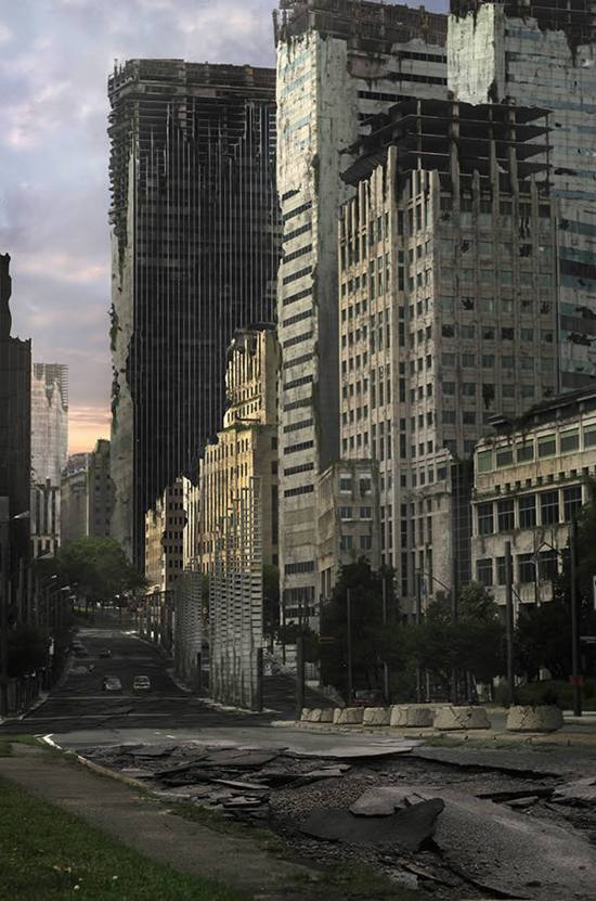 Create an Apocalyptic City Street in Photoshop