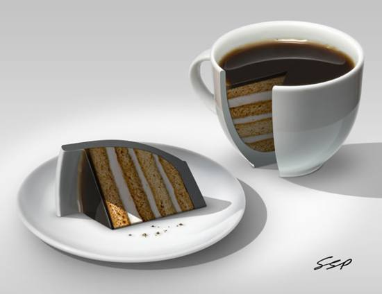 Create a Coffee Cake Photo Manipulation in Photoshop