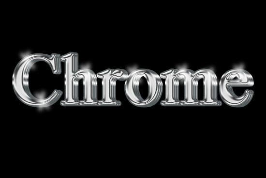 Create An Incredible Chrome 3d Text Effect In 7 Steps! Photoshop Tutorial