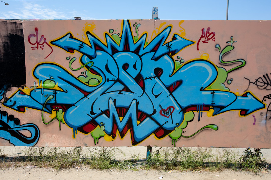 Culture Shock San Diego Graffiti Life photo shoot at the Writerz Blok by Chris Keeney Photography