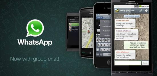 WhatsApp Messenger free android app