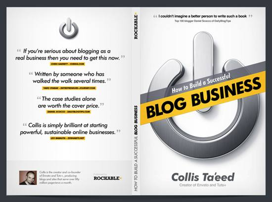 Blog Business Book Cover