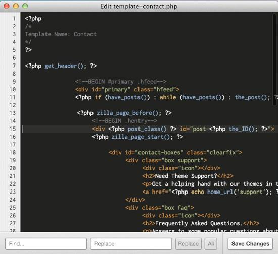 Code Editor App PSD for free download