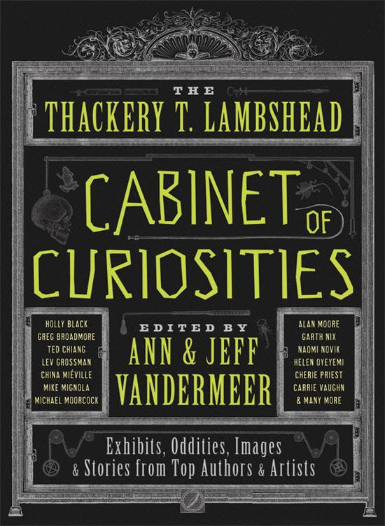 The Thackery T. Lambshead Cabinet of Curiosities! book cover