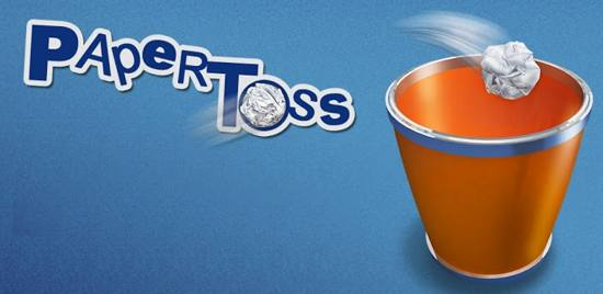 Paper Toss free android app