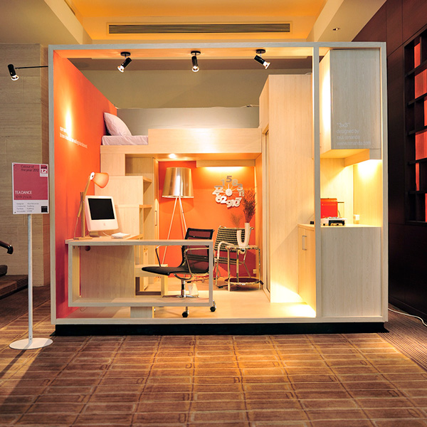 Cool Interior Design idea 3x3 box house idea 1.0