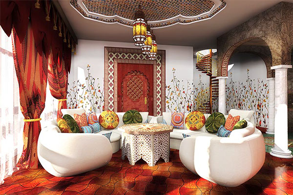 Cool Interior Design idea arabian style iterior 1.12