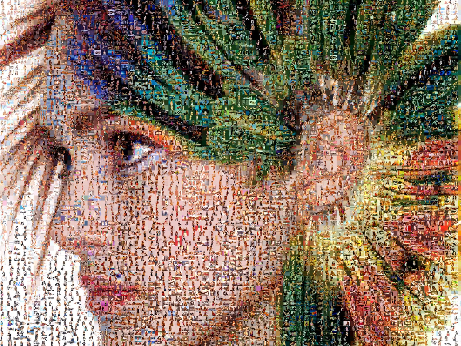 paper Mosaic artworks