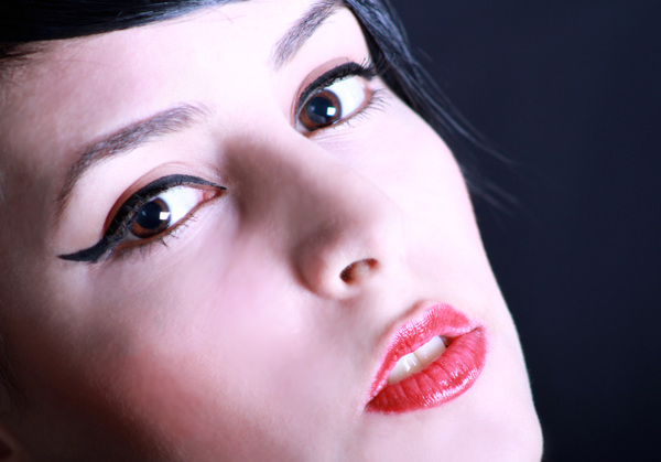 Close-up Face Portrait photography