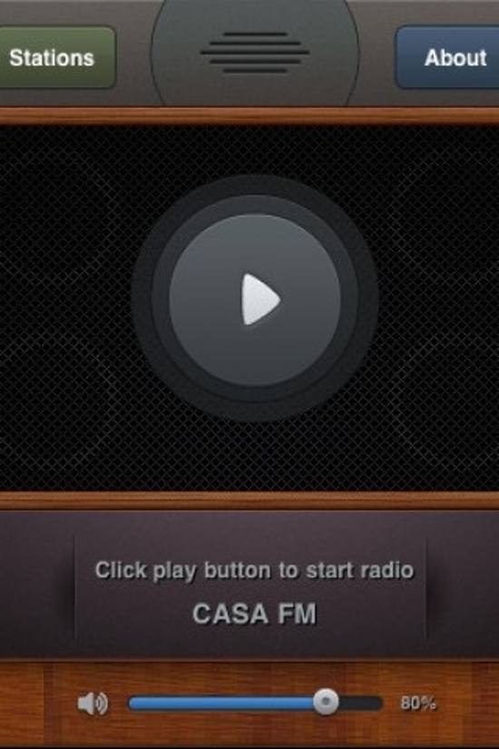 Maradio! ios app design for designers